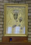 Icon of Our Lady of Czestachowa.