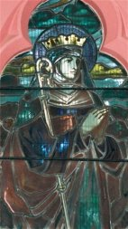 St Etheldreda (detail)