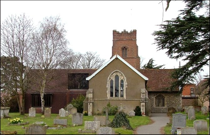 Kesgrave All Saints: imaginative and articulate, the extension to the south