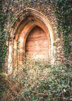 The south door. Generations of Mickfielders crossed this threshold over the centuries.