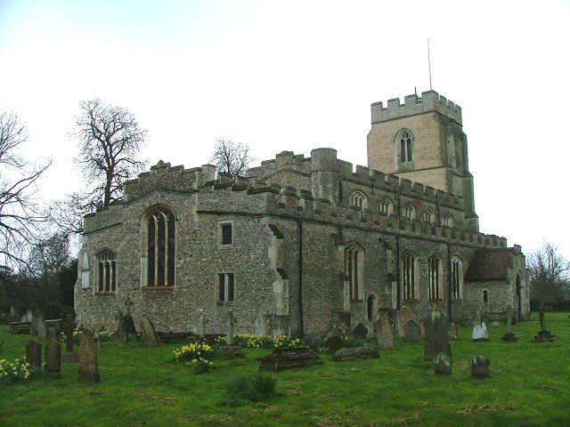 St John the Baptist: ship of the Stour Valley.