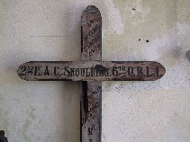 WWI cross: 2nd Lt A C Skoulding