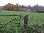 the gate into the field where the incident occured.