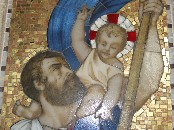 St Christopher and the Christchild