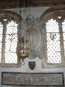 lamp in the Chantry