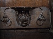 pelican misericord