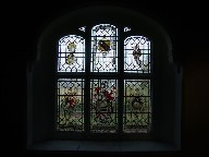 Poley chapel window