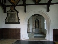 entrance to Poley chapel