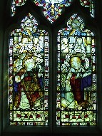 Kempe glass: Annunciation