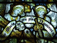 Kempe glass: ave maria