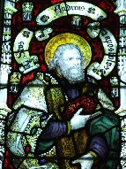 Kempe glass: St Andrew