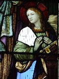 Mary at the Annunciation