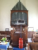 Father Willis organ and triffid