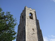 Corton's blank faced tower