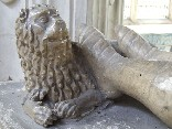faithful lion of Michael de la Pole, Earl of Suffolk