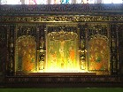 high altar reredos detail