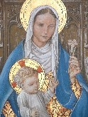 Blessed Virgin and infant Christ