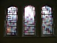 windows in the vestry