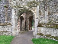 East Bergholt: processional way