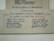 killed in Emsett by enemy action