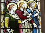 Christ with John and James