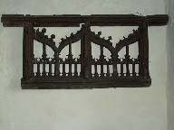 bits of the rood screen