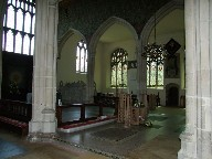 in the chancel