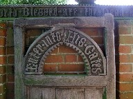 lych gate: enter into his gates