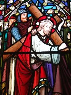 Christ carries his Cross