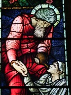 Good Samaritan as Charity by Edward Burne-Jones