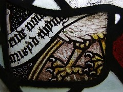 Eagle of St John (detail)
