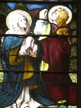 Mary and John at the Ascension