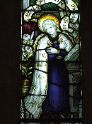Annunciation, by Kempe & Co: Blessed Virgin