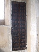 medieval tower door