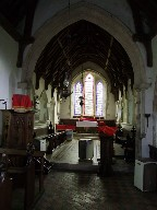 looking into the chancel
