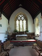 19th century chancel