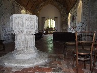 font and view east