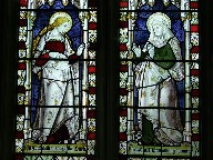 Visitation: Blessed Virgin and St Elizabeth, both pregnant