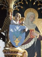 Annunciation angel and St Elizabeth