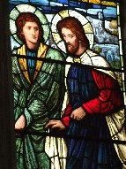 St John and Christ