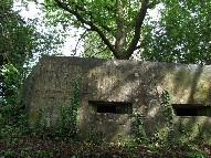 machine gun emplacement