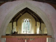 chancel arch from mezzanine