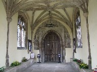 inside the north porch