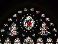 top of the east window