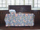 Laura Ashley altar