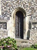 medieval priest door