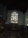 chancel (whoops!)