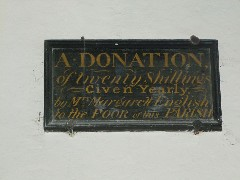 a donation