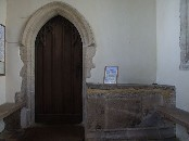 inside the south porch