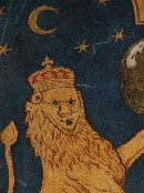 lion and moon